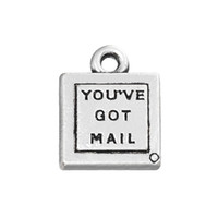 Wholesale mailing christmas gifts for sale - Group buy New Arrival Valentine s Day Gift Message Charms You ve Got Mail Vintage Alloy Letter Charms AAC937