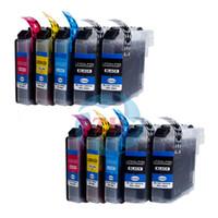 Wholesale Ink Dcp - ZH 10 PCS Ink Cartridges LC223 Compatible For Brother MFC-J5625DW J5720DW DCP-J4120DW MFC-J4420DW J4620DW J4625DW J5320DW Printer