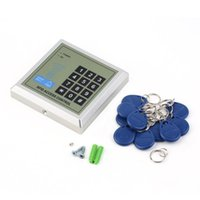 Wholesale Security Door Card System - Electronic RFID Proximity Entry Door Lock Access Control System with 10 Key Fobs Home Offices Security System