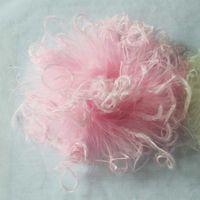 penas de avestruz cores misturadas venda por atacado-50 PÇS / LOTE Mix Cores Atacado Mais Barato Cruly Branco Rosa Penas de Avestruz Puff Para Decoração Do Cabelo 40 cores em estoque