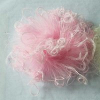 Wholesale Wholesale Ostrich Puff Feathers - 50PCS LOT Mix Colors Wholesale Cheaper Cruly White Pink Ostrich Feathers Puff For Hair Decoration 40colors in stock
