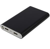 logo portable battery charger achat en gros de-(Usine en gros, LOGO personnalisé) Portable Power Bank 20000mah téléphone Powerbank 2 sortie USB Externa Batterie Chargeur de téléphone universel 100pcs / lot