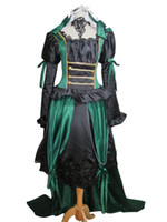 Wholesale Sullivan Costume - Black Butler Sieglinde Sullivan Green Witcn Lolita Dress Cosplay Costume