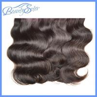 Wholesale 1kg Hair Extensions - Wholesale Cheap Brazilian Human Hair Extensions Body Wave Color1B 1Kg 20Bundles Lot 50g Bundle 100% Human Hair Extensions Weaves Grade 7A