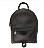 Wholesale Famous Backpack Brands - New Luxury brand women bag School Bags PU leather Fashion Famous designers backpack women travel bag backpacks