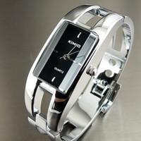Wholesale Women Watches Lady Bangle - Women Wristwatch Bangle Dial Stainless Steel Women Quartz Watches KIMIO Brand Ladies Wristwatch Analog Antique Relogio Feminino
