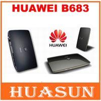Wholesale Wifi Gateway - Original Unlocked Huawei B683 21.6Mbps 3G wireless router HSPA+ Wireless WIFI Gateway support USB port WCDMA 900 2100MHZ