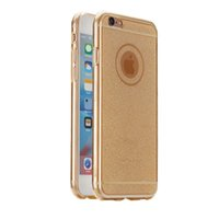 TPU Flash polvere caso trasparente per iPhone 6 6S 6Plus 5 5S cristallo di silicio casi Back Cover per iPhone 6 6s più
