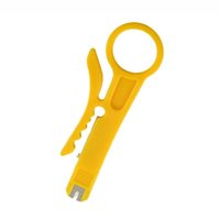 Wholesale Utp Tool - Hight quality Rotary Punch Down Network UTP Cable Cutter Stripper RJ45 Cat5 RJ12 RJ11 CAT-5e CAT-6 cable Punch Down Wire Tool