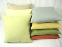 Wholesale Office Express - SF EXPRESS 100% Pull Plush Cotton Solid Pillow Case Office Waist Sofa Cushion Cover 20 colors Soft Cozy Solid Pillow Case