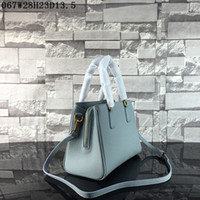 Wholesale Interior Light Colors - Latest women leather totes Lichee grain high end small sizes women buisness casual totes or shoulder bags 8 colors to choose