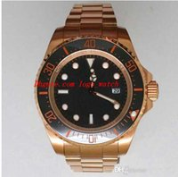 Wholesale Sea Dweller 52mm - Free Shipping AAA Top Quality Wristwatch Luxury 52mm Sea-Dweller Challenge 116660 Ceramic Bezel Automatic Mens Watch Men's Watches