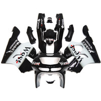 Wholesale 1994 Kawasaki Zx6r Fairing Kits - Fairings For Kawasaki ZX6R ZX-6R 636 94 95 96 97 1994 1995 1996 1997 Sportbike ABS Motorcycle Fairing Kit Bodywork Cowling West Black White