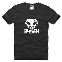 Wholesale Bleach Anime Mask - WISHCART Death Bleach the mask ghost step dance hip hop anime Mens T Shirt Tshirt Fashion 2016 Cotton T-shirt Tee Camisetas Hombre