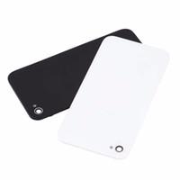 iphone4 4s cubierta de la caja al por mayor-Cubierta de batería blanca / negra Cubierta trasera de vidrio Caja trasera Puerta CDMA GSM NEGRO + Destornillador pentalobe para iPhone 4S 4G 4 iPhone4S iPhone4
