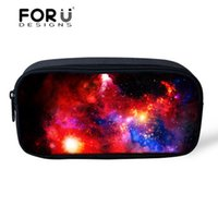 Wholesale Good Starts - DHL & SF _Express 3D Galaxy pencil case new Pencil Bags Start Universe Stationery Bag good quality