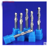Wholesale Cnc Micro Engraving - 1piece 6mm shank 2Flute Micro Carbide Ball Nose Tools Cutters for Wood CNC 3d Engraving Machine acrylic density