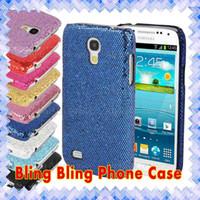 Wholesale Diamond Glitter Sparkling Leather - Rhinestone Glitter Bling Diamond Sparkle Back Case Mobile Cover For LG K7 G4 G5 Samsung J3 S7 Edge iPhone 6 6s Plus.