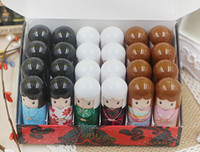 Wholesale doll lip balm for sale - Group buy DHL Moisturizing Lip Balm Cute Japanese doll lip balm natural plant Comfortable Fresh Fruit Favor Lipstick Lipsticks Lip Gloss
