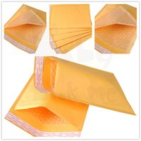 Atacado- 20pcs11X13CM Kraft Paper Bubble Envelopes Padded Mailers Shipping Self-Seal Bags