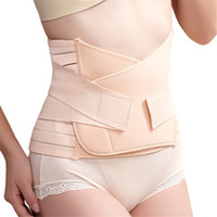 Wholesale Tummy Waist Shapers - Wholesale- Belly Belt Maternity Clothes Pregnant Women Postpartum Recovery Belt Body Shapers Waist Tummy Girdle Belt Shapewear Belly Bands