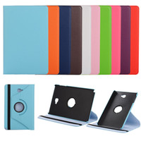 Wholesale Galaxy S Flip Cover - 360 Rotating Flip PU Leather Stand Case For Samsung GALAXY Tab A 8.0 2017 T380 T250 T580 T350 T550 S S2 T700 T800 T715 T815 P580 with S Pen
