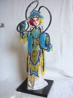 oriental cloth - Oriental Broider Doll Chinese Old style figurine China opera statue