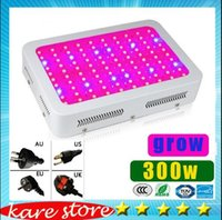 Wholesale Grow Panel 3w - factory best price 300w LED Grow Light 100pcs * 3W 100 LEDs garden downlight Hydroponic LED Grow Lamp lights Panel lighting