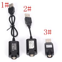 Wholesale universal t - Universal Ego USB Charger for Electronic Cigarette Battery Ego-t Ego w Ego C X6 Twist Evod Ecig battery 510 vape pen cable chargers