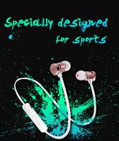 fones de ouvido sem fio para celular venda por atacado-X3 magnético fone de ouvido bluetooth fone de ouvido à prova d 'água esportes sweatproof fone de ouvido estéreo sem fio para iphone x 6 7 8 plus s8 universal telefone celular