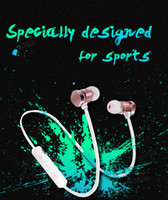 Wholesale Waterproof Bluetooth Earphones - X3 Magnetic Bluetooth Headphone Earphone Waterproof Sweatproof Sports Stereo Wireless Headset For Iphone X 6 7 8Plus S8 Universal cell Phone