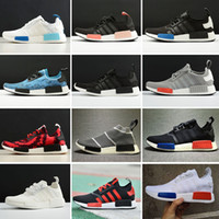 Wholesale Cheap Round Buttons - 2017 New Arrival Men Women Casual Shoes NMD R1 RUNNER PK Cheap Running Shoes Cheap Sale Outdoor casual Shoes Free Shipping Size 5-11