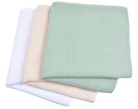 Wholesale Microfibre Face - 3pcs 40x60cm Microfiber Waffle Weave Dishcloths Kitchen Towels Absorbent Towel Microfibre Dish Cloth Cloths 3 pieces