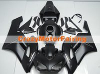 Wholesale High Quality Fairing Body Kit - New Injection Mold High quality ABS Motorcycle Fairing Kit 100% Fitment For HONDA CBR1000RR 2004 2005 CBR1000 04 05 Body set all black matte