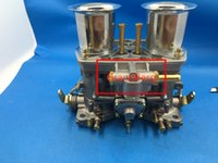 Wholesale Vw Beetle Carb - weber  dellorto model 44IDF carb carby Carburetor With Air Horn For racing car Bug Beetle VW Fiat Porsche replece weber carb