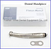 Wholesale Dental High Speed Handpiece Midwest - NSK Pana Max2 Dental High Speed Handpiece Clean Head Push Midwest 4Holes Ceramic