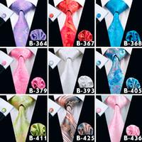 ingrosso moda uomo bello-Mens Paisley Groom Neck Cravatte Fashion Wedding Pattern Cravatta in seta Jacquard Cravatte Alta qualità Insieme cravatta Belle Cravatte da uomo