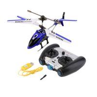 helicoptero rc gyroskop groihandel-Großhandels-Neuester Syma S107g 3.5 Kanal Mini Indoor Co-Axial Metall RC Hubschrauber im Gyroskop gebaut
