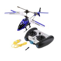 Wholesale Helicopter Indoor - Wholesale-Newest Syma S107g 3.5 Channel Mini Indoor Co-Axial Metal RC Helicopter Built in Gyroscope