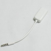 divisor de auriculares y cable de 3.5mm al por mayor-3.5 mm Auriculares para auriculares macho 1 a 2 hembra Y Splitter Extender AUX Audio Cable Adapter Jack