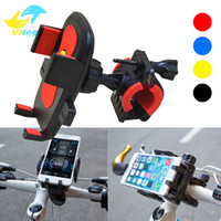 Wholesale Cellular Phones Wholesale - Mount bicycle motorcycle phone holder Universal 360 Rotation bike phone holder support cellular phone moto