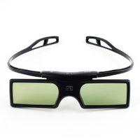 enlace de dlp gafas de obturador al por mayor-Gonbes G15-DLP BT Obturador activo 3D Gafas Proyector Smart TV Gafas 3D para Optoma LG Acer DLP-LINK DLP Proyectores de enlace Gafas 3D con estuche