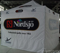 outdoor trade show displays - 3X3m Custom Print Outdoor Advertising Folding Popup Canopy Custom Printed X10FT Trade Show Tent Marquee