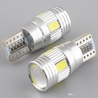 Auto Led Licht Canbus Birne T10 5630 6SMD Decode W5W, Objektiv LED Breite Lampe T10 Wedge Clearance Lights