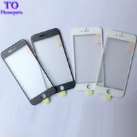 iphone ön ekran onarımı toptan satış-OEM soğuk basın 3 1 Ön Ekran Cam Çerçeve OCA Ile iphone 6 Için artı 6 s 7 artı onarım Değiştirme