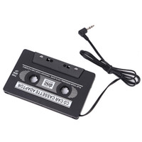 Wholesale Clear Dvd - Wholesale-Hot Car Cassette Tape Adapter FOR MP3 CD MD DVD For Clear Sound Music drop shipping 1pcs