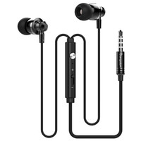 Wholesale Wholesaler Mp3mp4 - Original Langsdom M300 Metal Super Bass In-ear Stereo Earphone 3.5mm with Mic Headset Earbud for iphone ios Android Mp3Mp4 With Retail Box