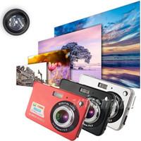 zoll tft lcd digitalkamera großhandel-18MP 2,7 Zoll TFT LCD Digital-Kamera-Videorecorder 720P HD Kamera 8X Digital-Zoom DV Anti-Shake