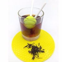 Wholesale Sweet Silicone Cup - Silicon Sweet Tea Infuser Candy Lollipop Loose Leaf Mug Tea Strainer Cup Steeper Tea Tools