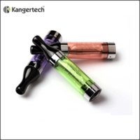 Wholesale Ego T2 Starter Kit - EGo T2 Tank Clearomizer E Cigarette No Leaking t2 atomizer Replacement Coils Kanger for evod ego-c twist battery starter kits DHL Free